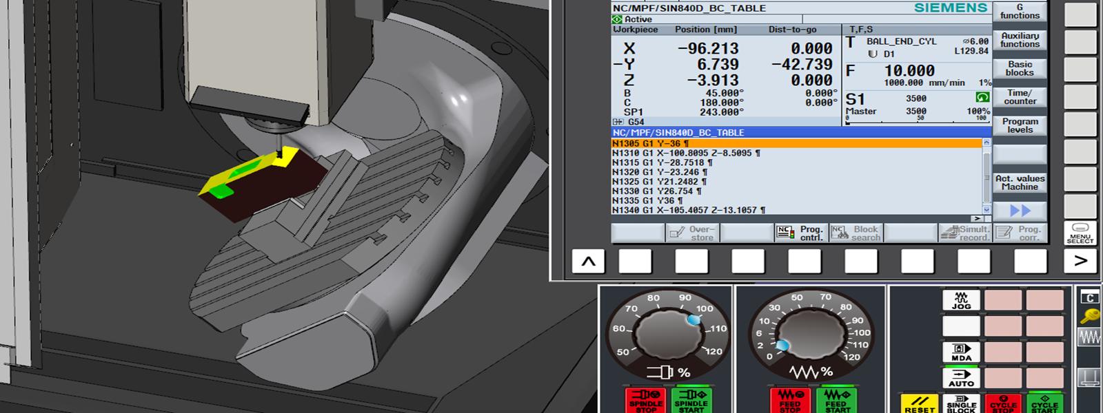 CNC SINUMERIK Mill 5-Axis